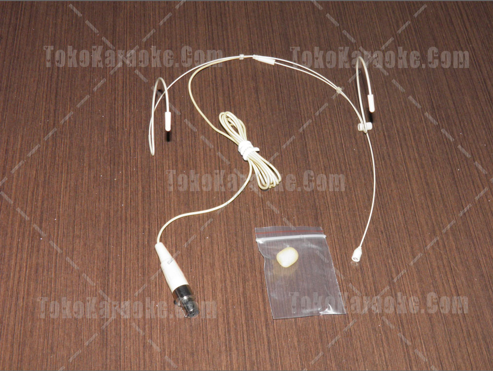 Headset Microphone Body Pack White