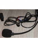 Headset Mini XLR TA3F Black Flexible Wired Boom for Belt Pack Mic Systems