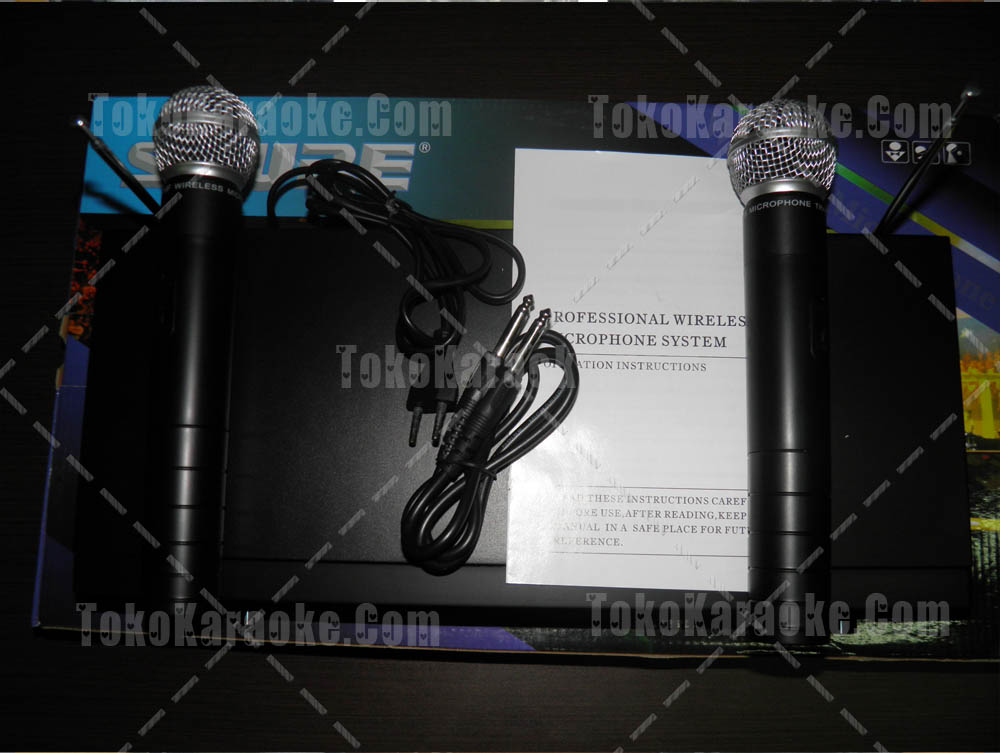Mic Wireless Shure SH 8000