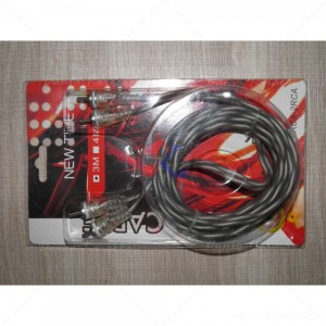 Kabel RCA to RCA Audio New Tide 3 Meter