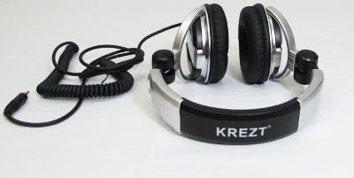 Headphone Krezt DJ 9200