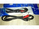 Kabel XinYue 2 x RCA Audio Male to 3.5 mm Jack 1,5 Meter