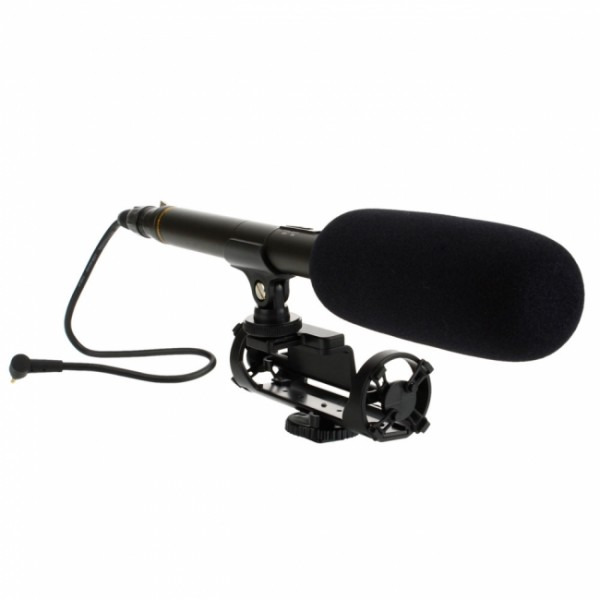 Busa Mic 9 Cm Hitam Microphone Windscreen Cover