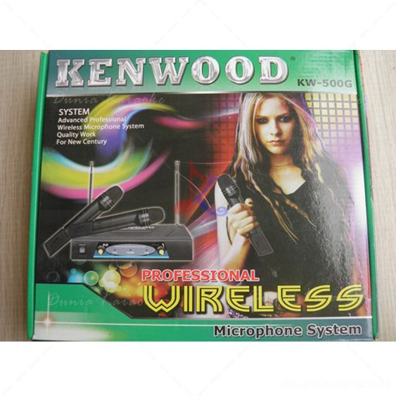 Mic Wireless Kenwood KW 500 G