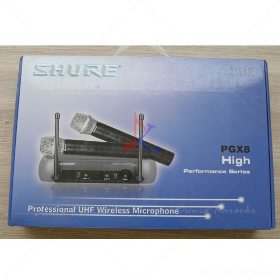 Mic Wireless Shure PGX 8