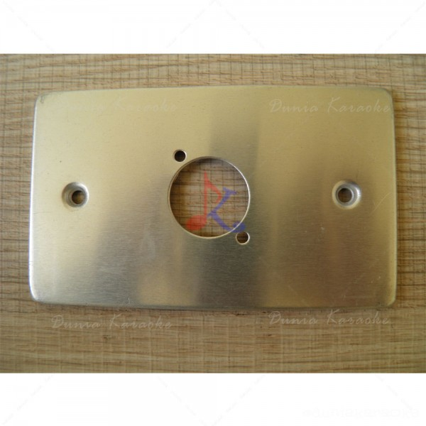 Single Terminal Wall Plate for XLR Connectors