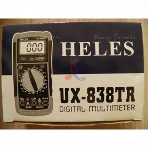 Digital Multimeter Heles UX-838TR Buzzer With Lamp