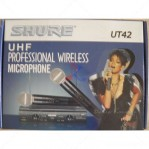 Mic Wireless Shure UT 42 SM 58 Value Series
