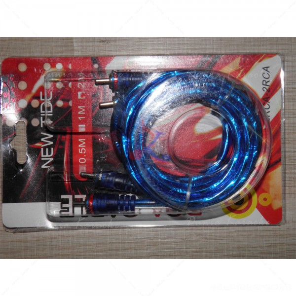 Kabel RCA to RCA Audio New Tide 2 Meter