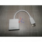 Converter HDMI Male to VGA Female White