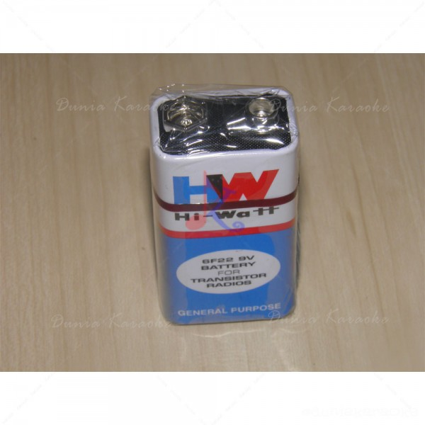 Battery 9V Hi-Watt