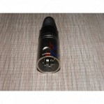 Jack XLR Male Nickel 5 Pin