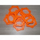 Microphone Gelang Star Anti Rolling Orange