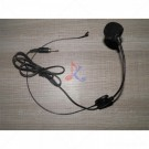 Headset Jack 3,5mm Black Flexible Wired Boom for Belt Pack Mic Systems