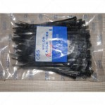 Kabel Ties CSS 2,5 x 100 Hitam 10 Cm 100 Pcs Nylon Cable Ties