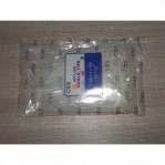 Kabel Ties CSS 2,5 x 100 Putih 10 Cm 100 Pcs Nylon Cable Ties