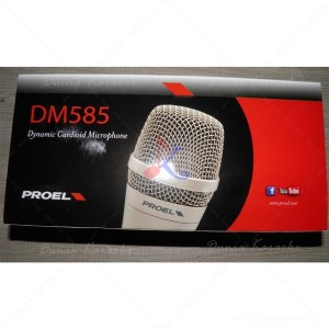 Microphone Kabel Proel DM 585