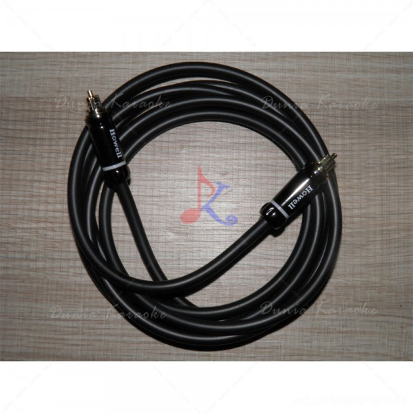 Kabel Digital Optical Audio Cable with Metal Connector Howell Premium 2 Meter