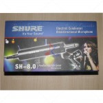 Microphone Condenser Jepit Shure SH 8.0 Omnidirectional Electret Condenser