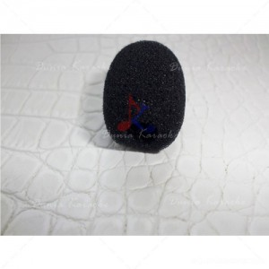 Busa Mic 4,5 Cm Diameter 1,8 Cm Microphone Windscreen Foam Cover