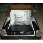 Microphone Wireless Naiwa UHF 168N