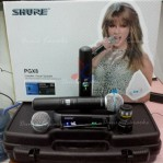 Microphone Wireless Shure PGX 8 ( Handheld ) Digital Display