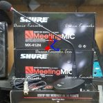Microphone Conference Shure Meeting Mic MX 412N Condenser Gooseneck Desktop Base